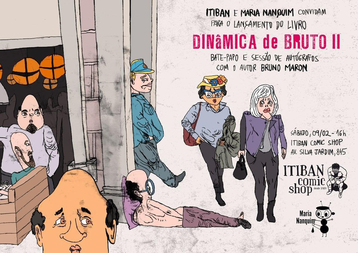 Bruno Maron, o carioca mais tímido do mundo