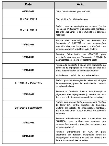Novo cronograma da Eleição para Conselho Tutelar em Curitiba