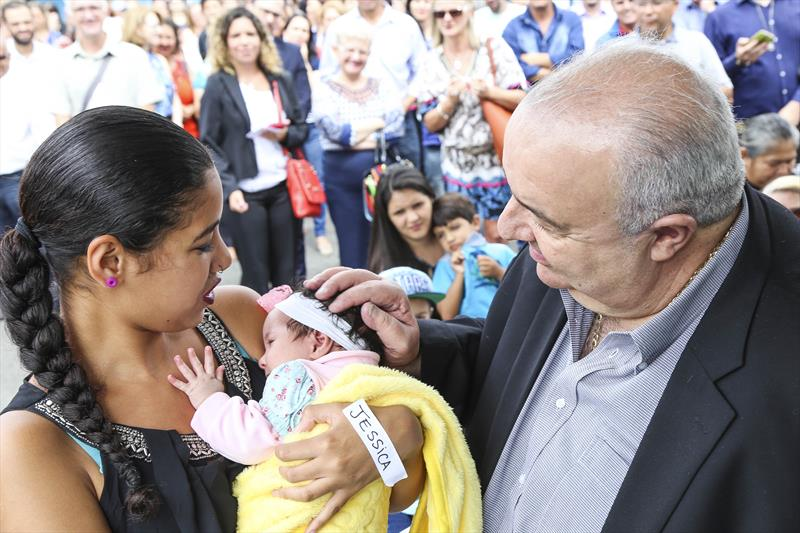 Bebês serão atendidos por apenas 18% das vagas das novas creches contratadas. Foto: Pedro Ribas/SMCS
