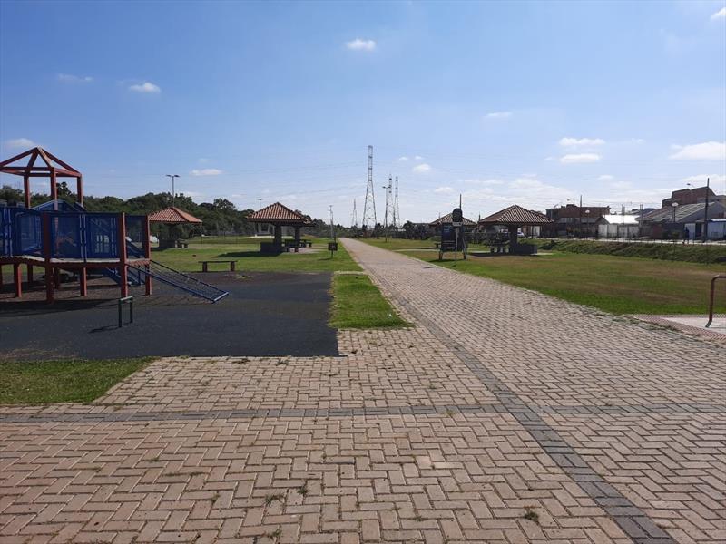 Parque no Fazendinha vazio após ação de conscientização da Guarda. Foto: Divulgação
