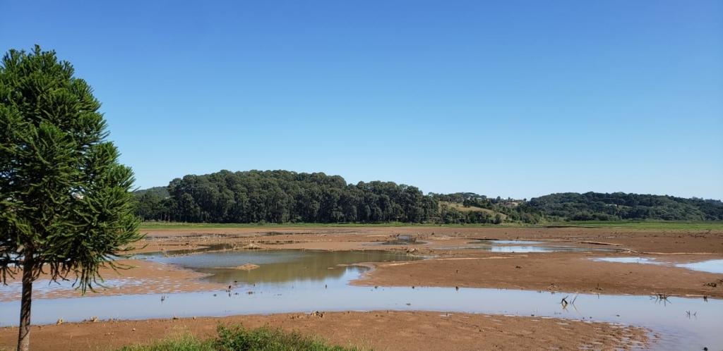 Nível da barragem do Passaúna está em 60,21%. Foto: Caroline Olinda